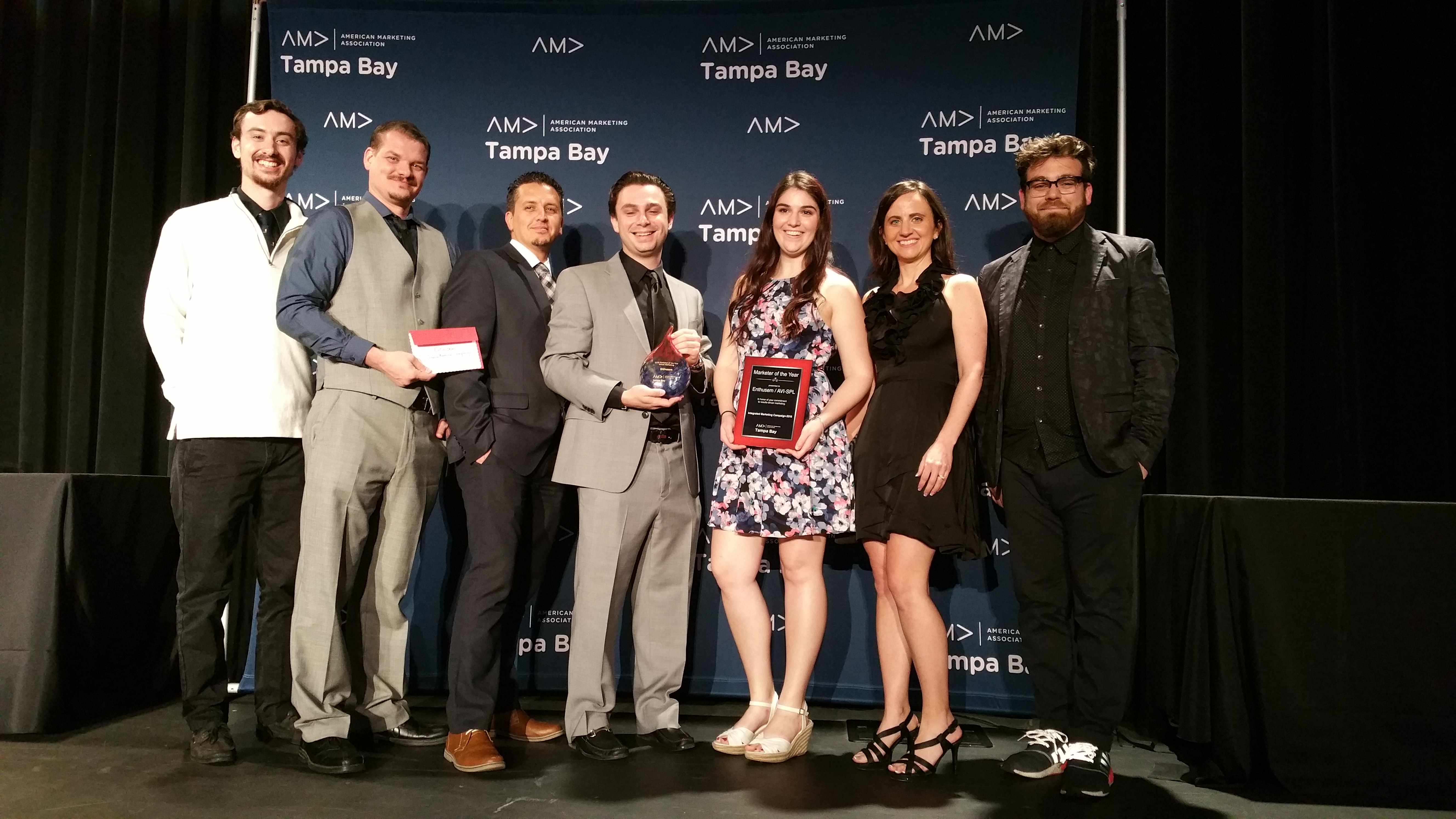 Enthusem AMA award