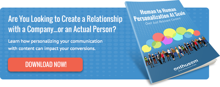 Human to Human Personalization At Scale Whitepaper