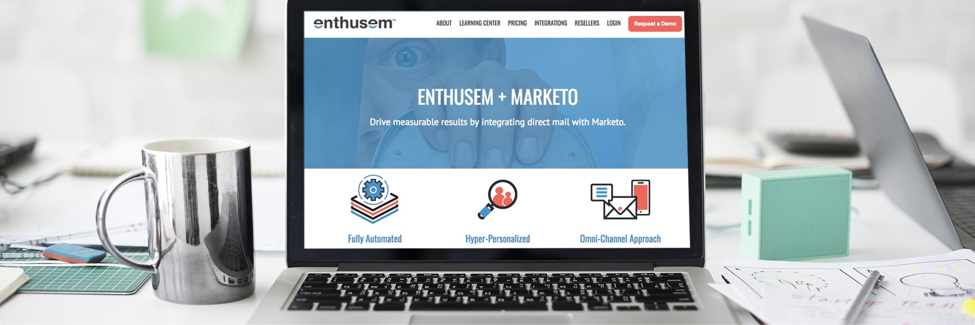 Enthusem Announces Partnership with Marketo®